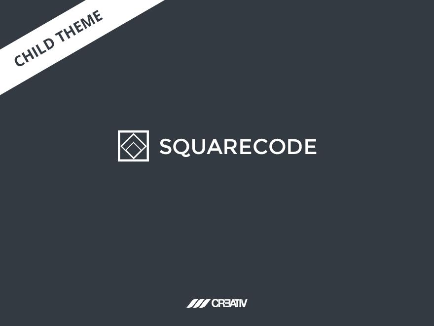 squarecode wp child