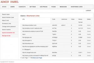 Shorted link management