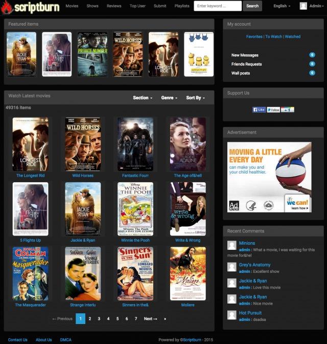 Scriptburn Com Wordpress Movie Plugin Scriptburn Com